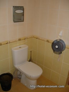 Utilities / toilet at Hotel Econom Donetsk
